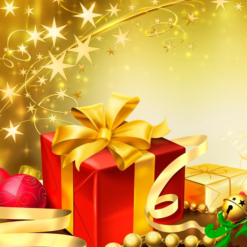 Christmas Presents iPad Wallpaper   Download iPad wallpapers 1024x1024