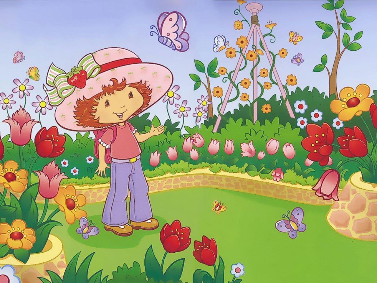 strawberry shortcake Computer Wallpapers Desktop Backgrounds 1280x960