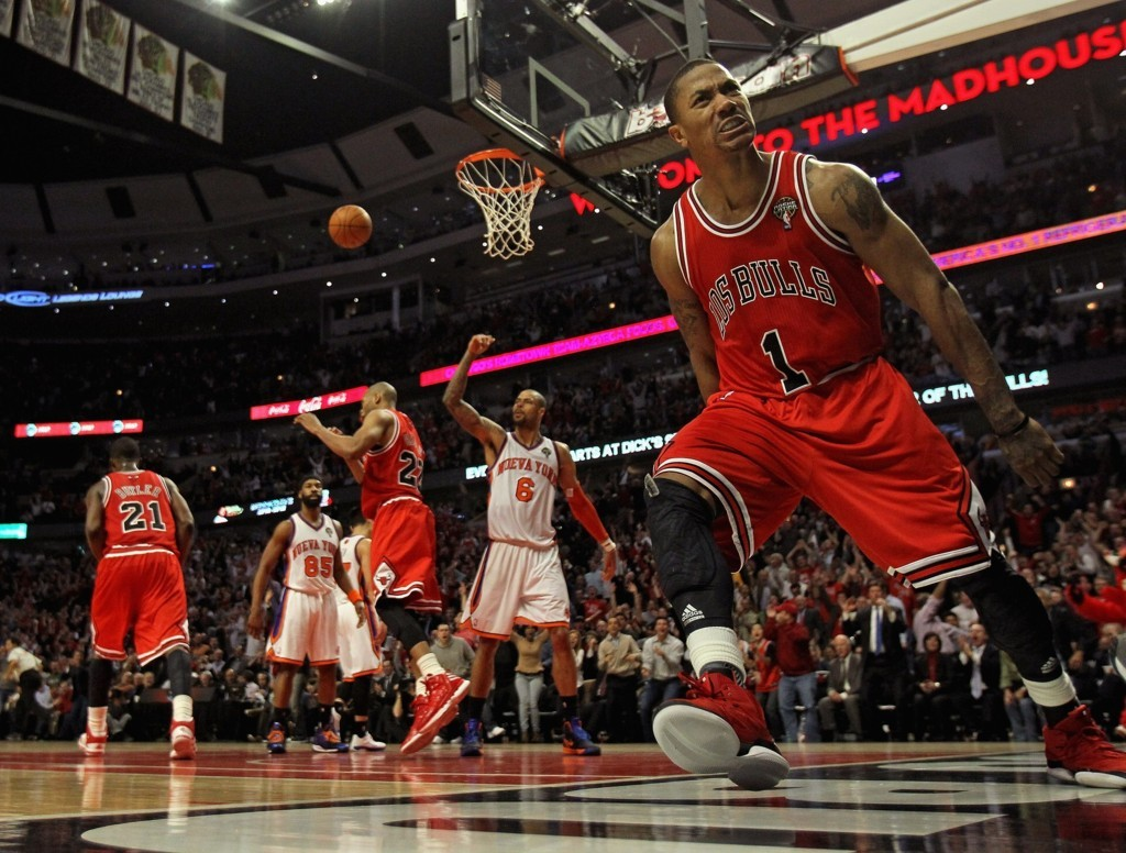 Wallpaper Derrick Rose Chicago Bulls Hd Wallpaper Upload at February 1024x776