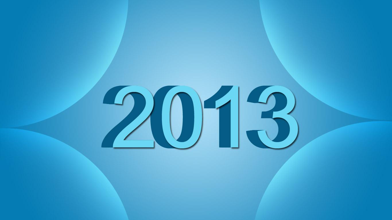 Download Happy New Year 2013 Desktop Wallpapers Knowledge N 1366x768