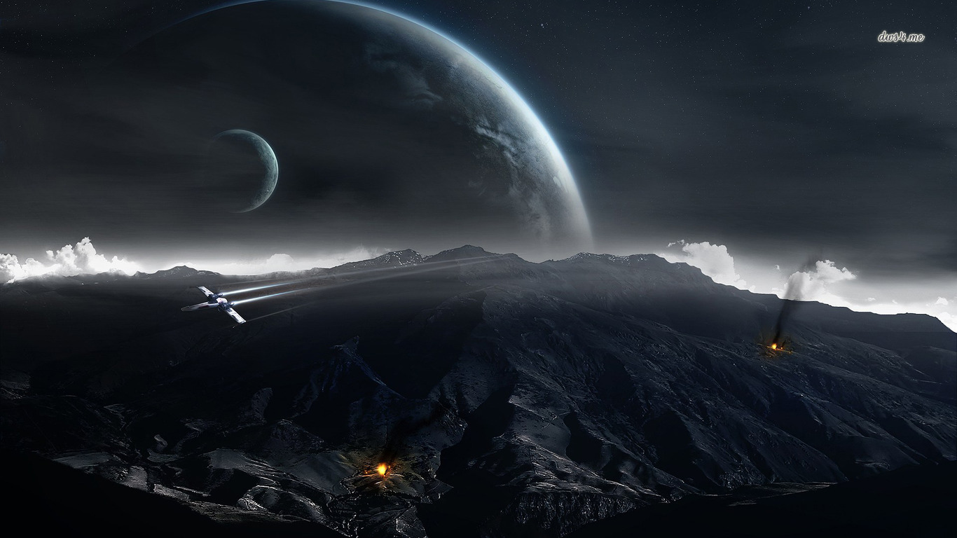 Space war wallpaper   Fantasy wallpapers   2751 1366x768