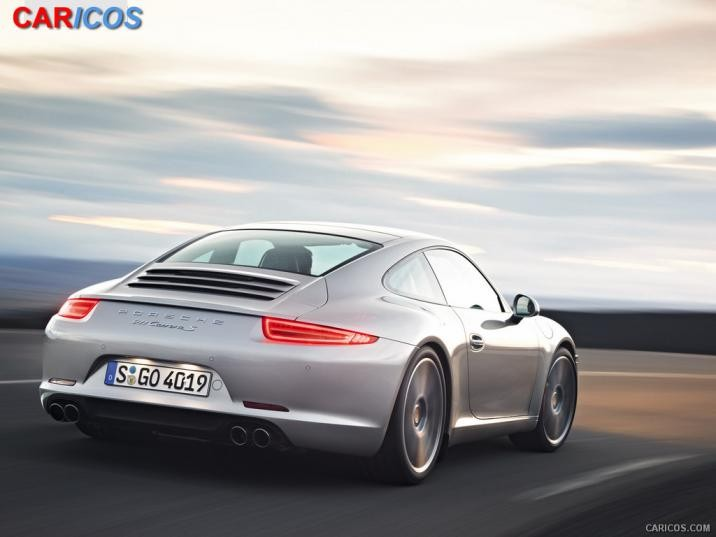2012 Porsche 911 Carrera S   Rear Wallpaper 3 1600x1200 716x537