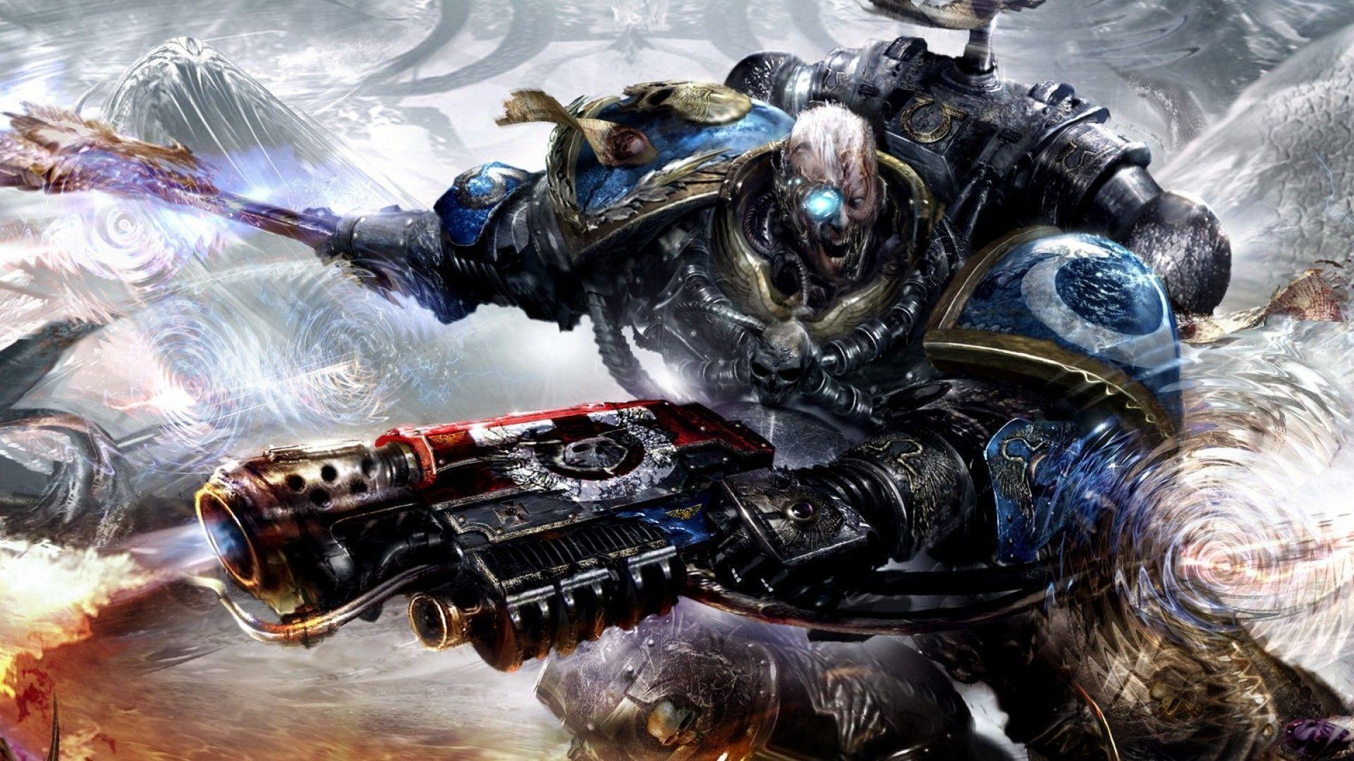 Pics Photos   Warhammer 40k Chaos Space Marine Wallpaper 1920x1080
