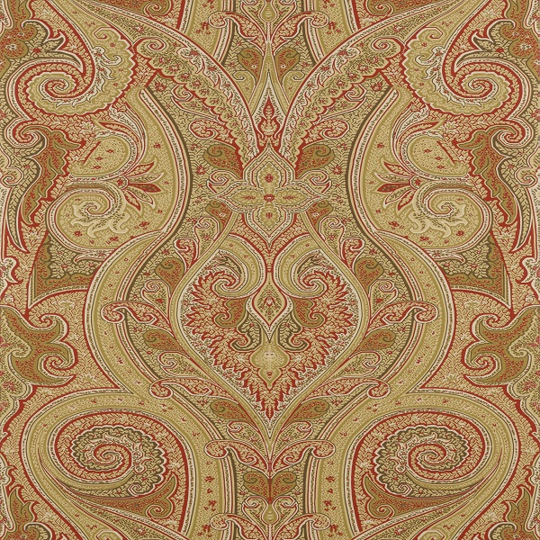 Thibaut Wallpapers   Menswear   Patani T1033 Camel and Red 600x600
