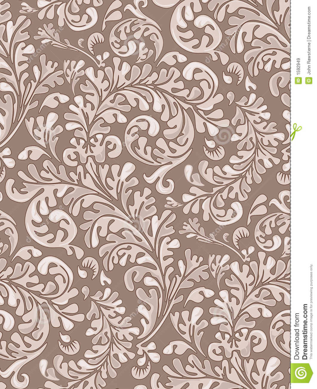Seamless Vintage Wallpaper Pattern Royalty Stock Images 1062x1300