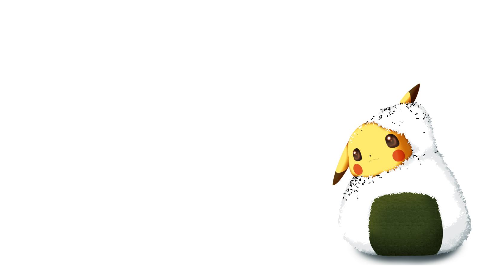 Pokemon Pikachu Wallpaper 1600x900 Pokemon Pikachu Rice 1600x900