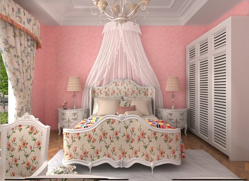 pink wallpaper for girls room wallpapersafari 16759 | 8j6a0n
