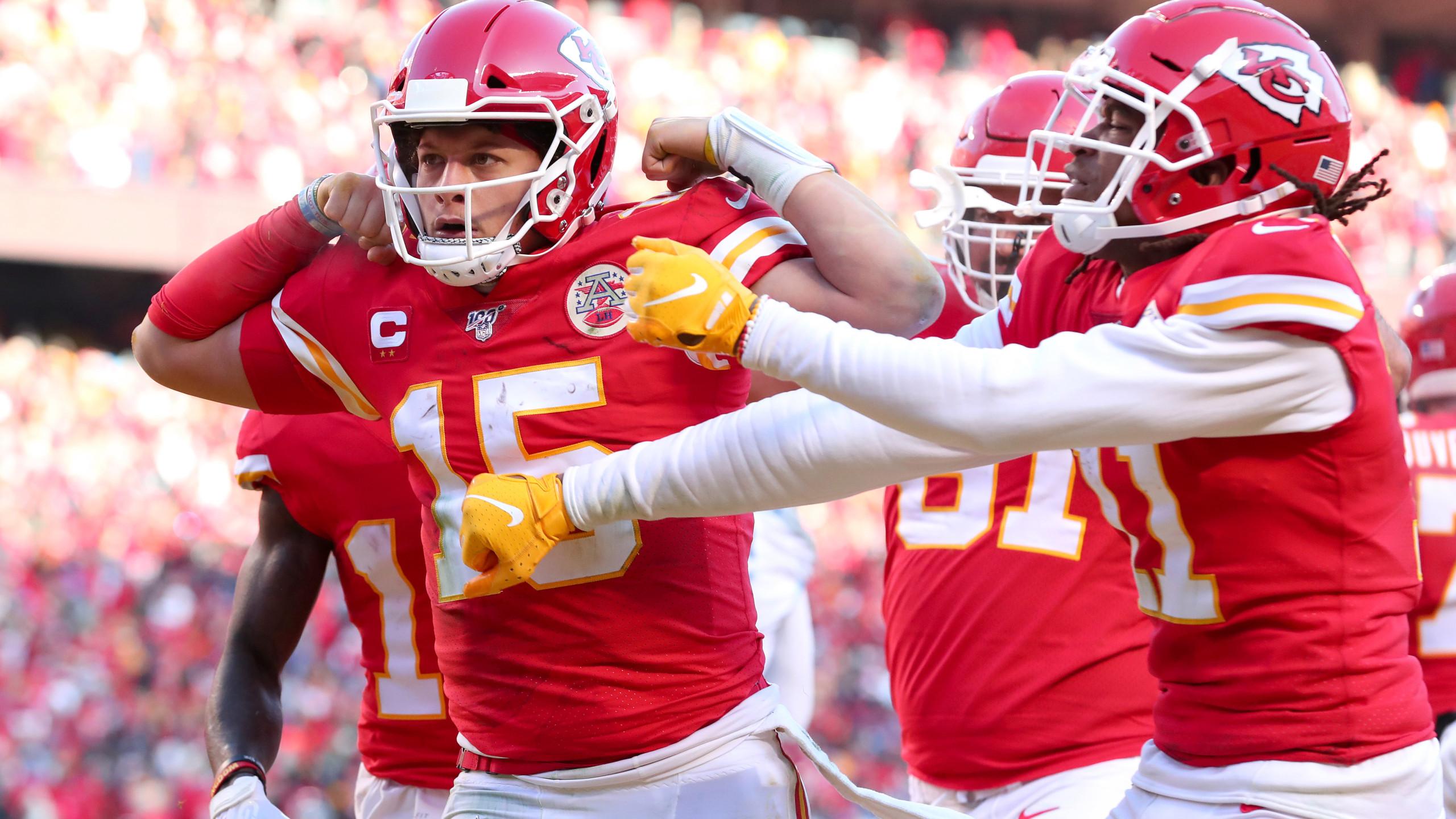 Chiefs advance to Super Bowl LIV following 35 24 win over Titans 2560x1440
