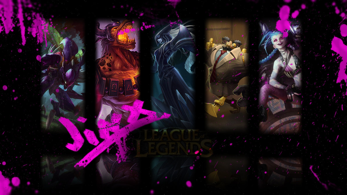 1191x670px jinx wallpapers - wallpapersafari