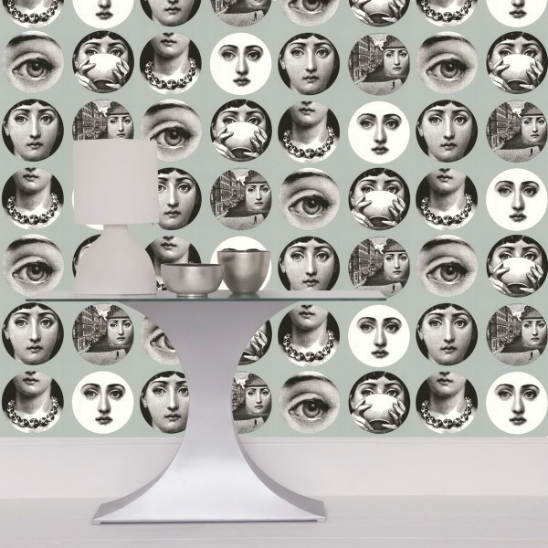 Tema e Variazioni Wallpaper by Fornasetti exclusively on Etoffecom 600x600