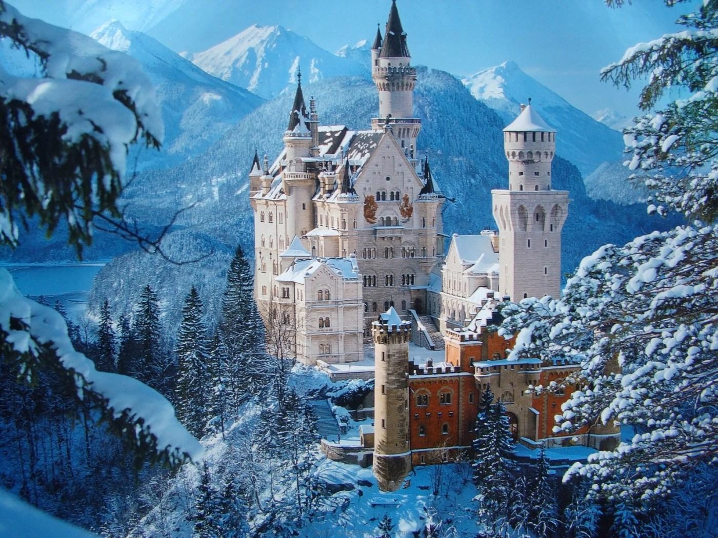 Unique Wallpaper The Great Neuschwanstein Castle Germany Wallpaper 1400x1050