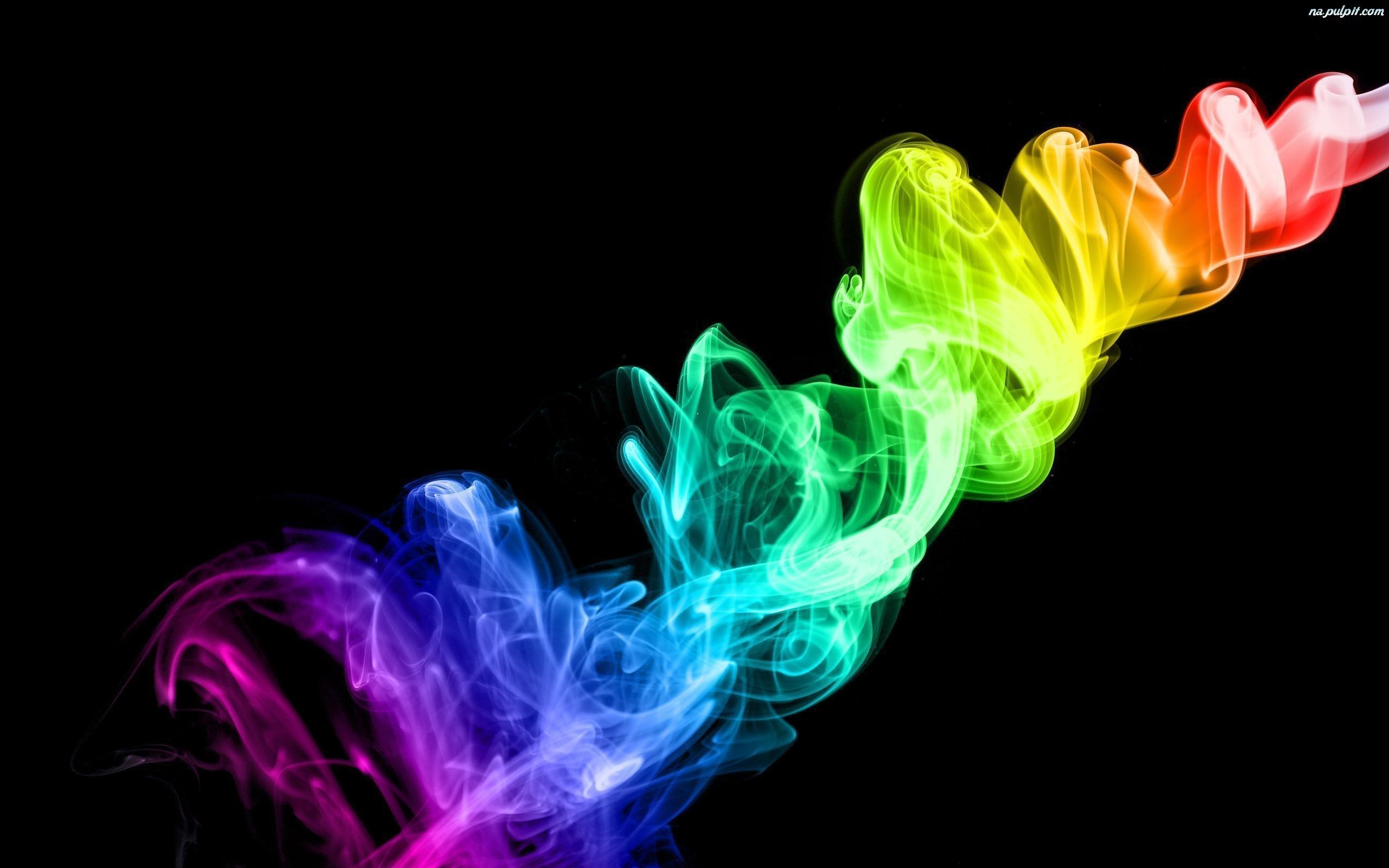 Tcza Kolorowy Dym Na Pulpit 2560x1600