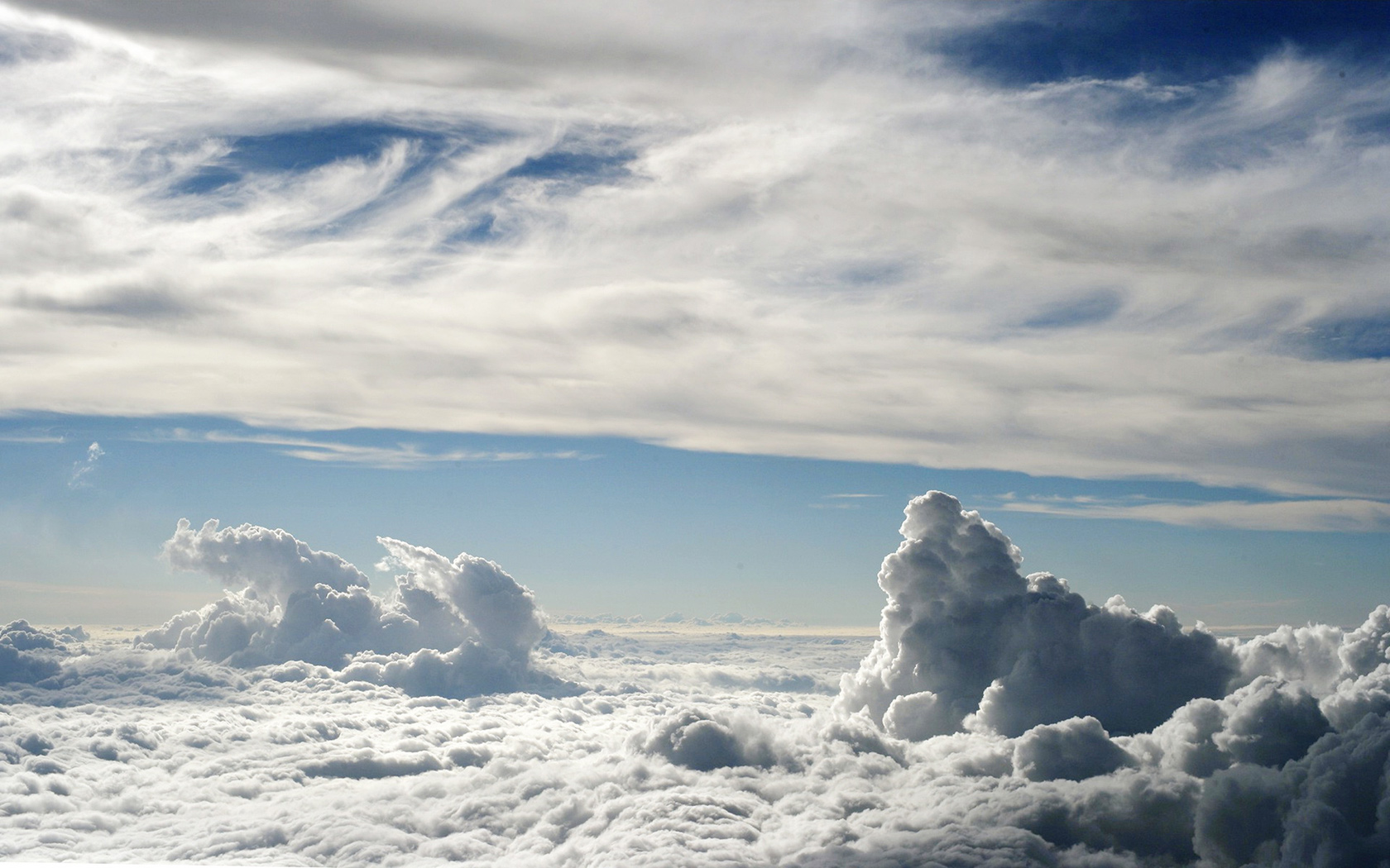 desktop wallpaper of amazing clouds computer desktop wallpaper 1680x1050