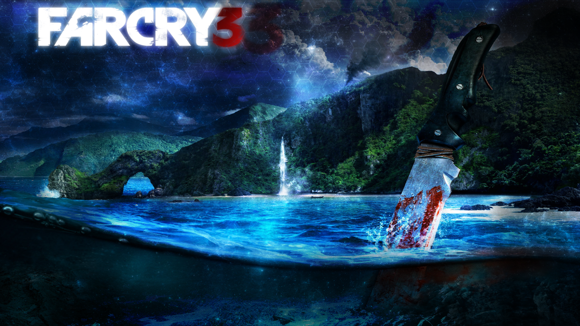 Far Cry 3 Wallpaper 1920x1080 by forgotten5p1rit 1191x670