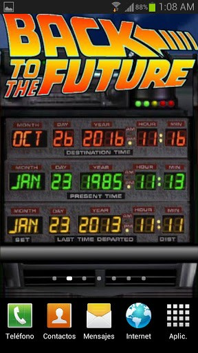 Back to the Future Wallpaper Screenshot 2 288x512