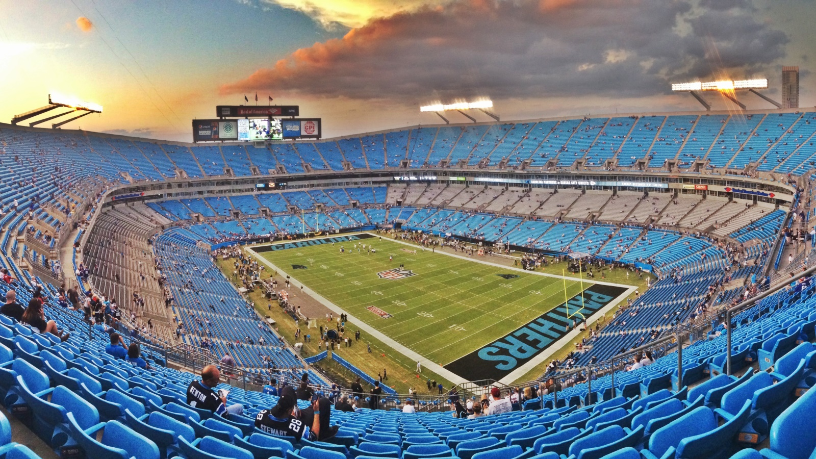 Bank of America Stadium Charlotte Sports 1600x900