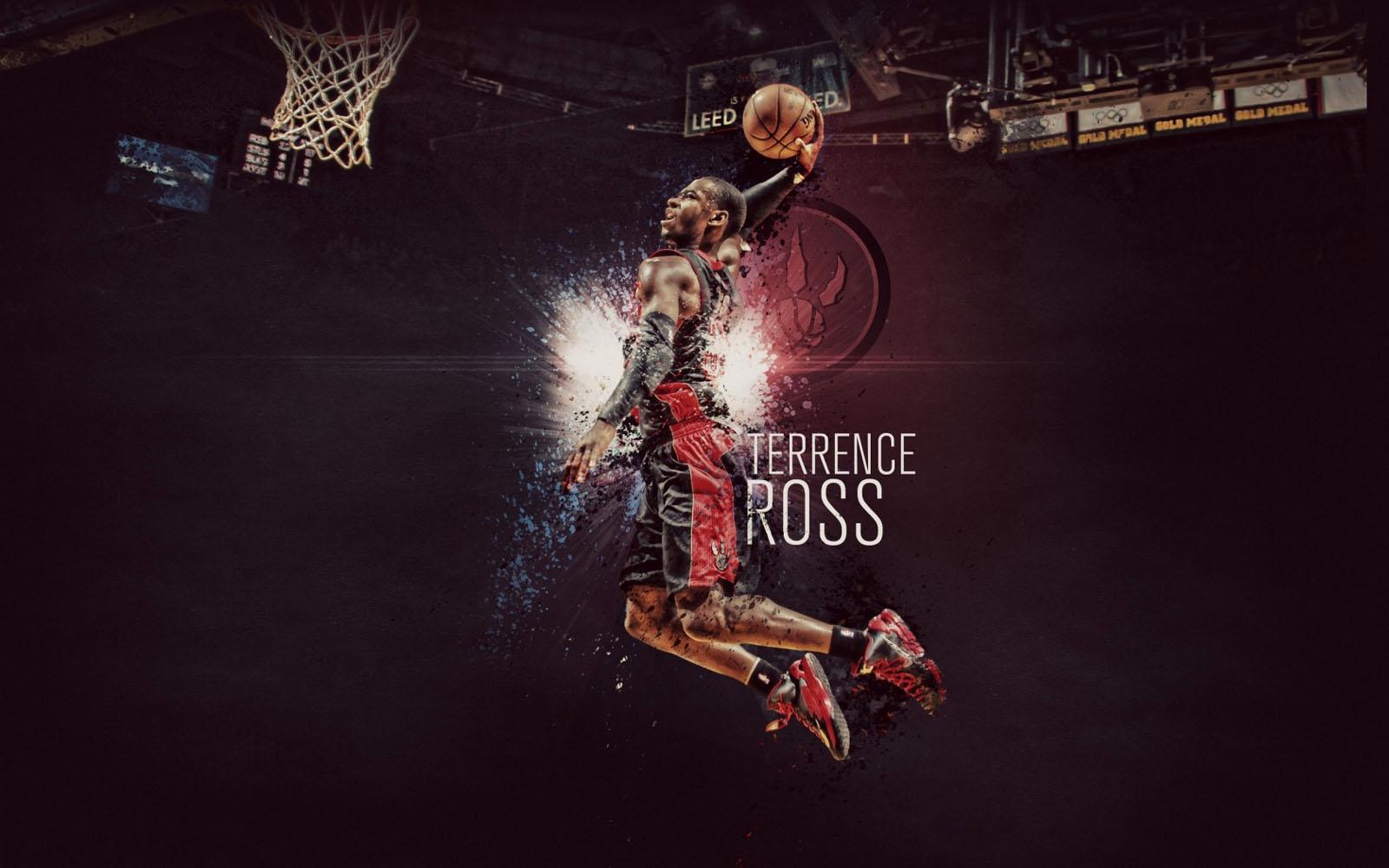 Ross 2013 Toronto Raptors Slam Dunk NBA HD Desktop Wallpaper CaT 1600x1000