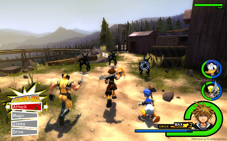 Kingdom Hearts Kingdom Hearts 1440x900