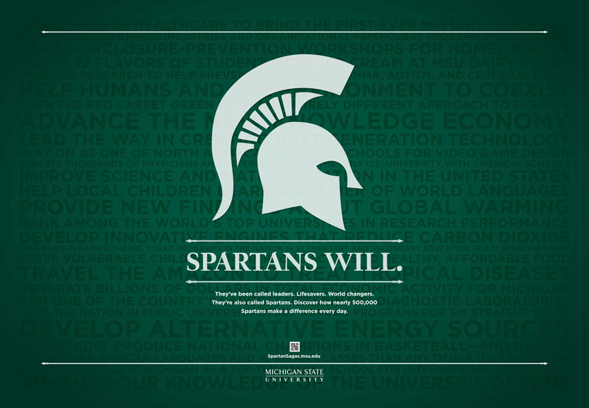 Michigan State Spartans 853x592