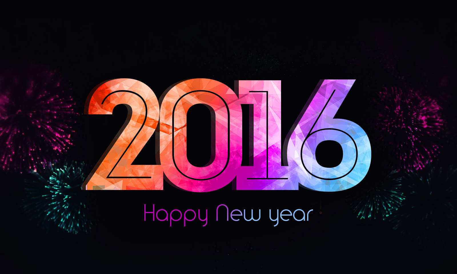 New Year 2016 HD Wallpapers for PC Desktops   Happy New Year 2016 1600x962