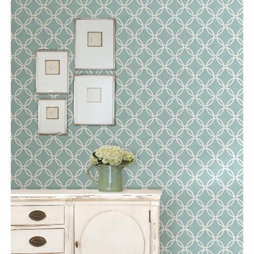 Brewster Blue Links Peel and Stick Wallpaper   Wallpaper at Hayneedle 500x500