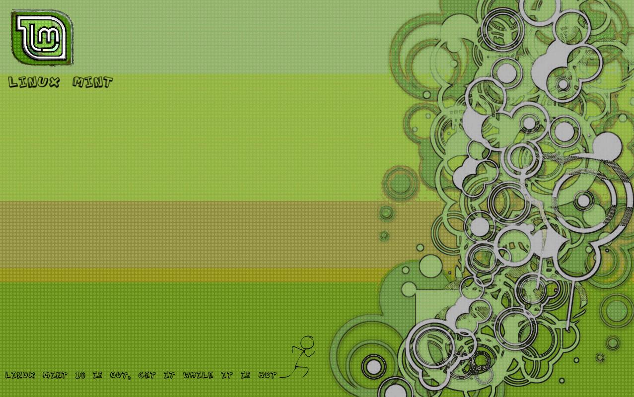 linux mint 10 wallpaper by danrock007 customization wallpaper mac pc 1277x800