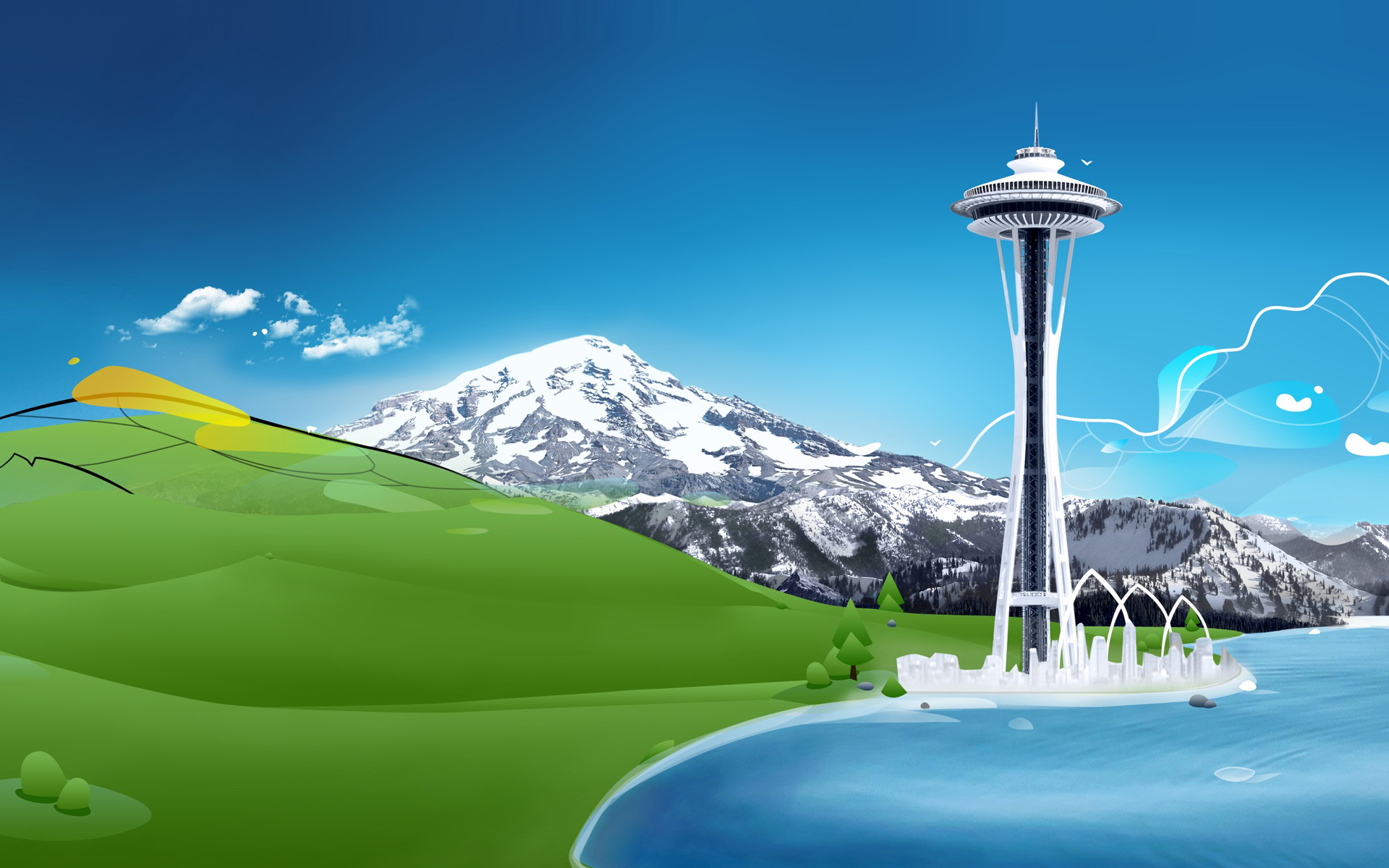 Windows 8 Seattle Desktop and mobile wallpaper Wallippo 1920x1200