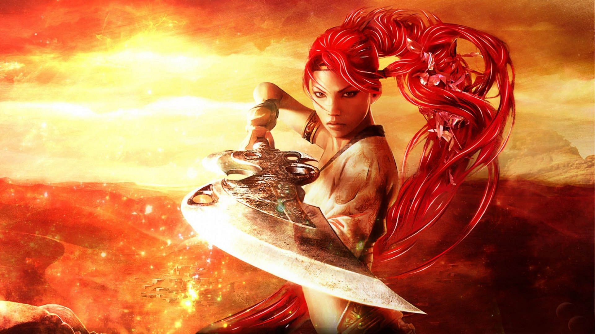 Pin by Brandan Flynn on Maidens Warrior Women Heavenly sword 1920x1080