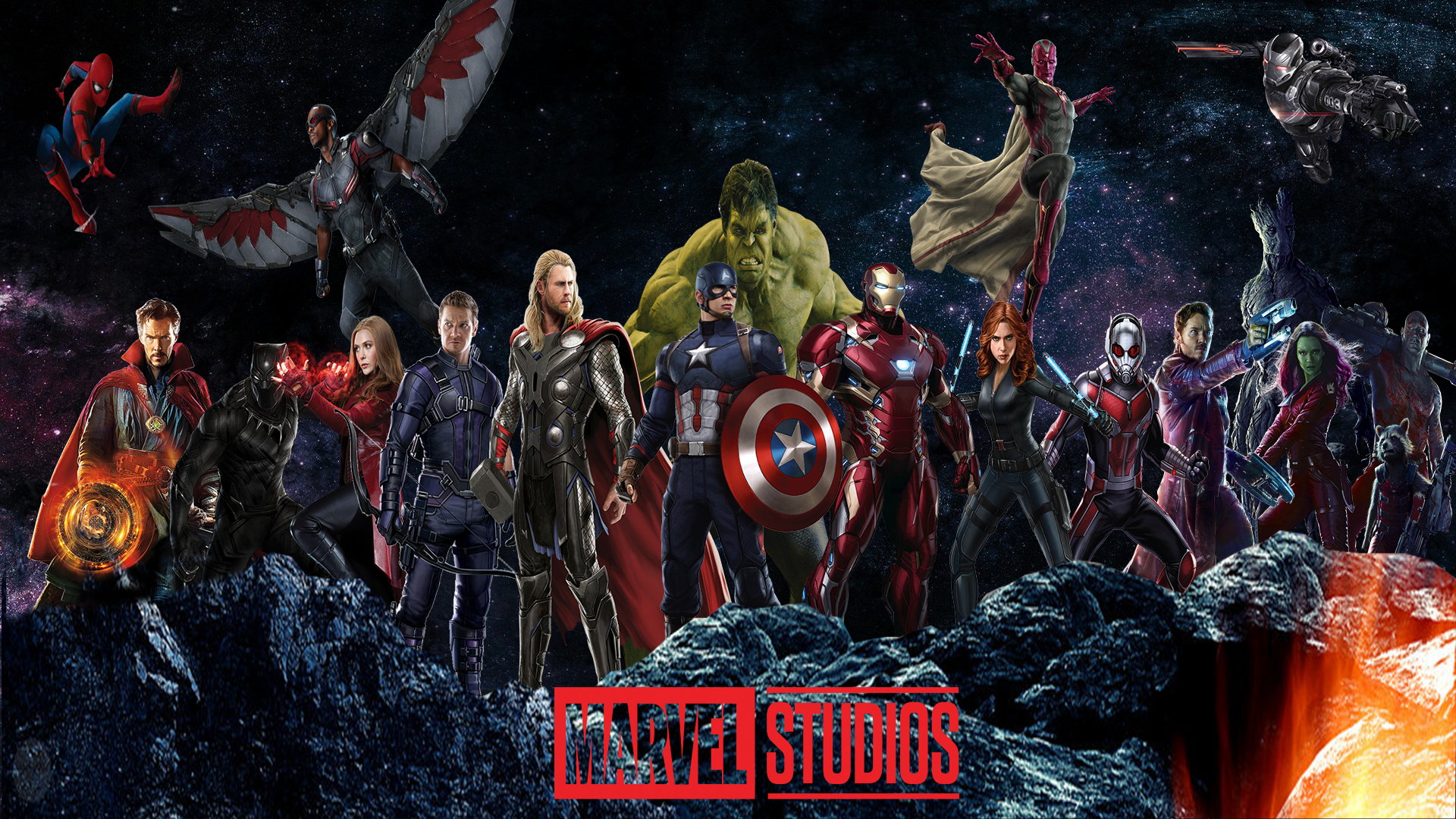 Marvel Cinematic Universe Wallpaper by The Dark Mamba 995 1920x1080
