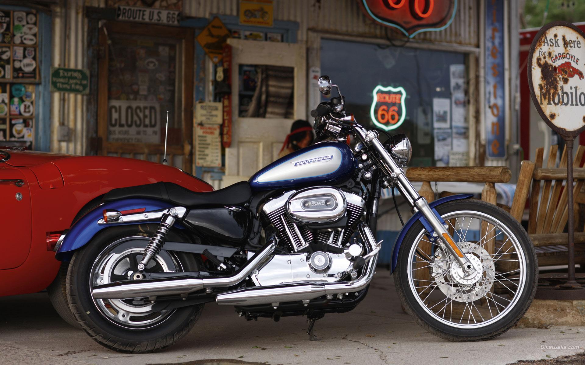 Harley Davidson Sportster 1200 wallpaper   447817 1920x1200