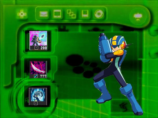 Megaman PET Screen by tanlisette 600x450