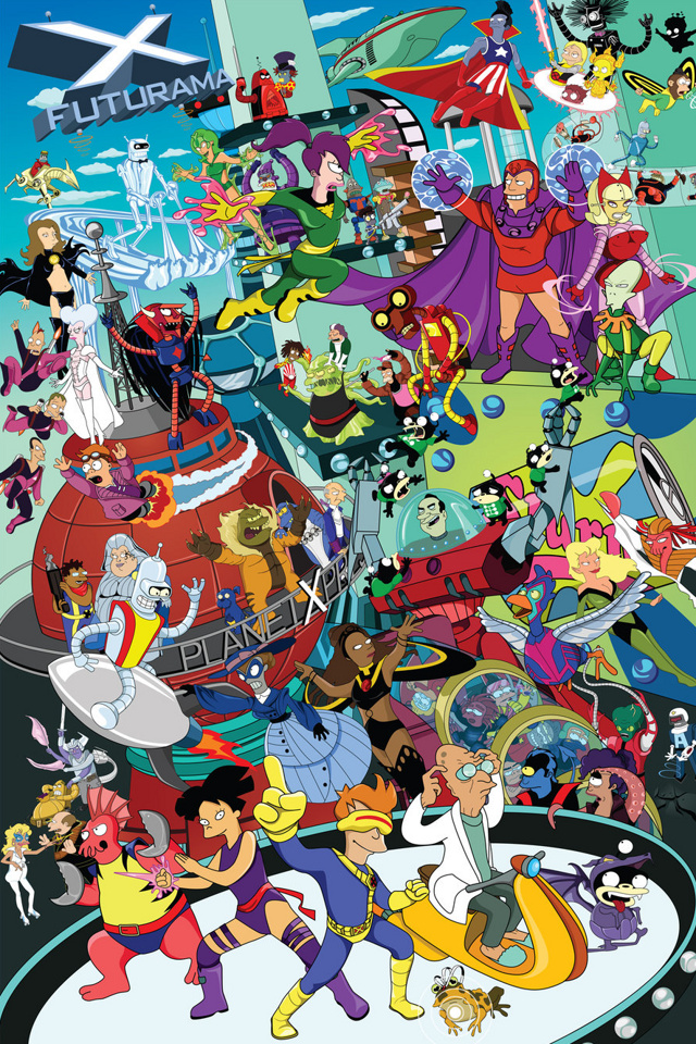 50+ Futurama iPhone Wallpaper on WallpaperSafari