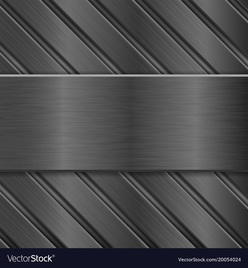 Metal background dark steel texture Royalty Vector 1000x1080