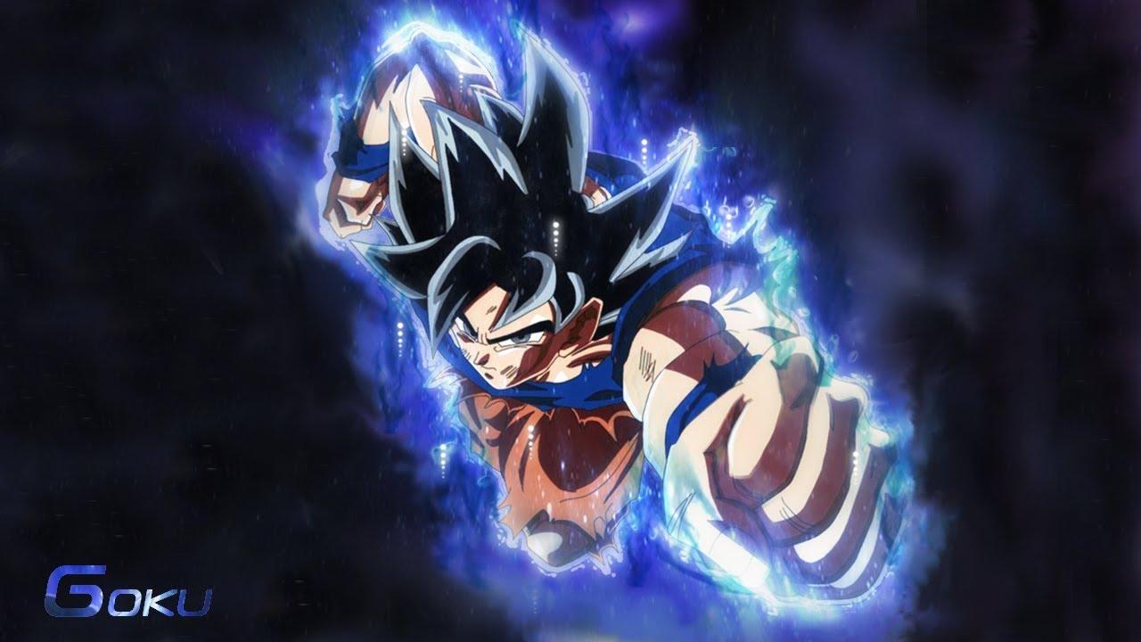 Making Goku Ultra Instinct Aura Wallpaper Speed Art 1280x720