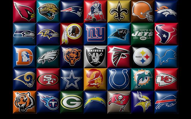 All Nfl Teams Logos 2014 Nfl teams logos 640x400