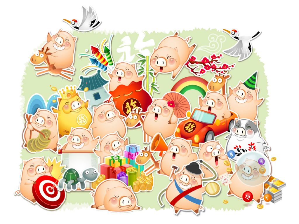 Baby pig desktop wallpaper wallpapersafari - Pig wallpaper cartoon pig ...