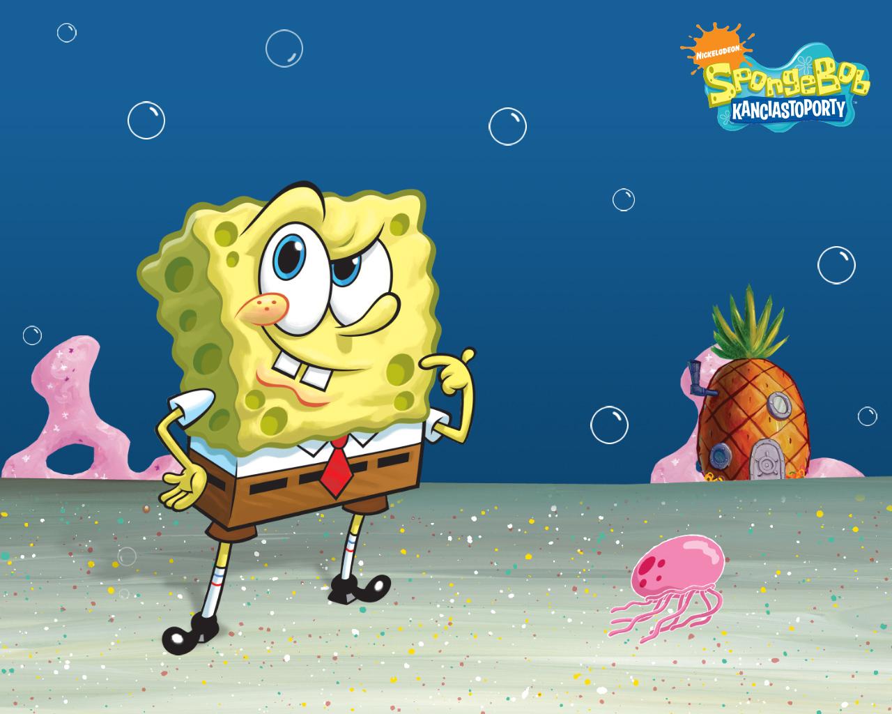 spongebob squarepants wallpaper wallpapersafari