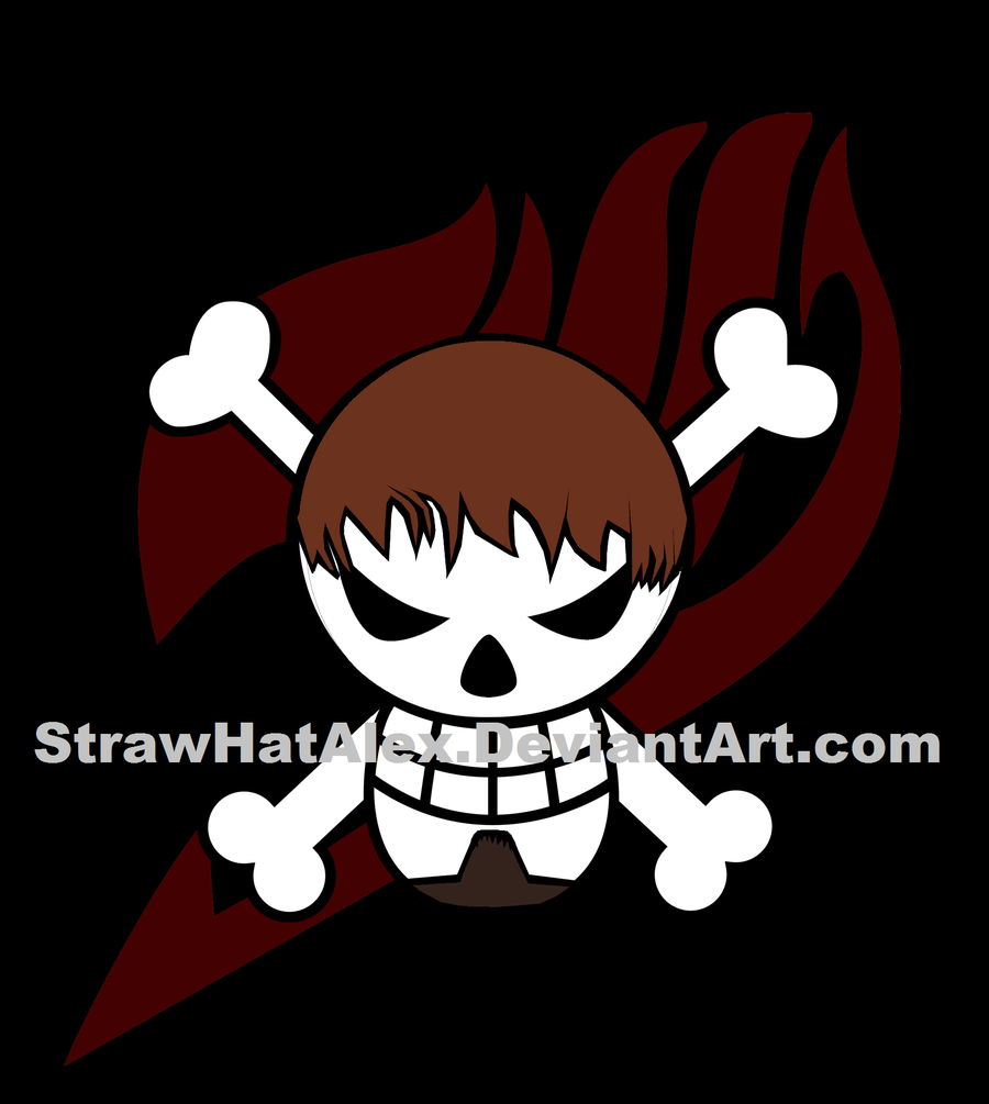 Custom One Piece Jolly Roger by StrawHatAlex 900x1005