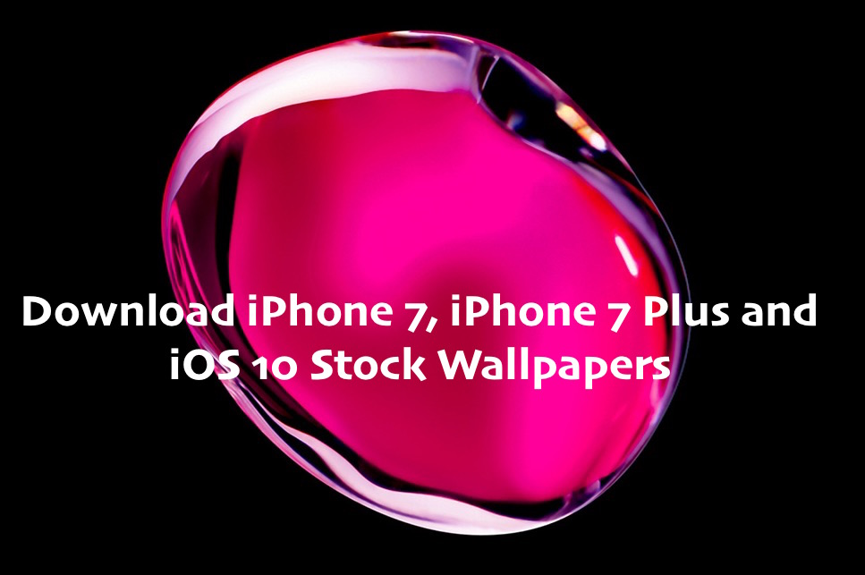 Download iPhone 7 7 Plus iOS 10 Stock Wallpapers 967x643