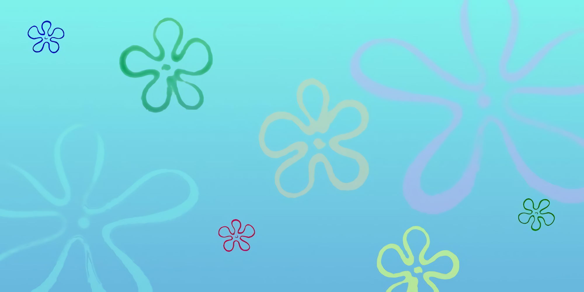 Rainy day at the Krusty Krab wallpapers 2000x1000