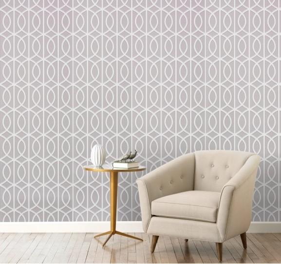 wallpaper modern wallpaper by dwellstudio gate dove wallpaper modern 577x542