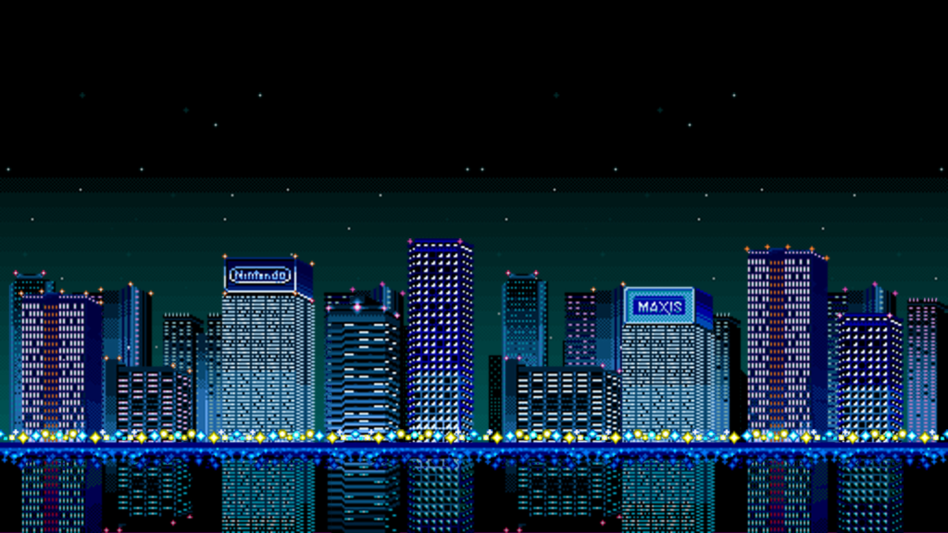 Free Download Super Nes Simcity Wallpaper For Your Desktop