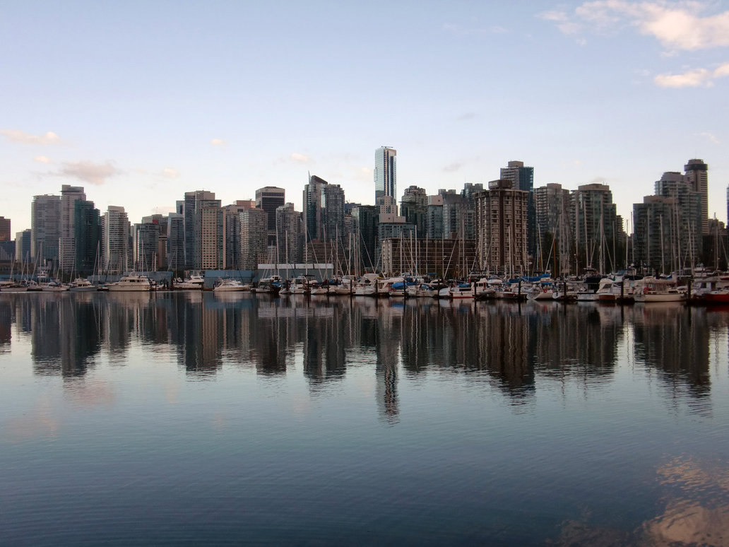 Vancouver Skyline Sept 2011 by v collins 1032x774