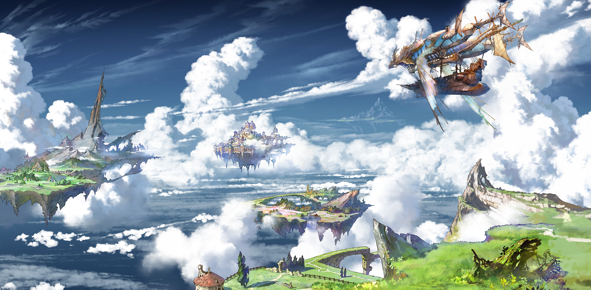 Fantasy is a new Japanese mobile RPG from Cygames that features music 1897x933