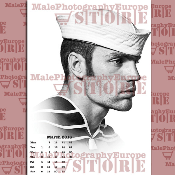 2016 Wall Calendar   A Tribute to Tom of Finland 600x600