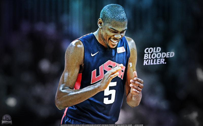 Kevin Durant Cold Blooded Killer Wallpaper by lisong24kobe on 800x500