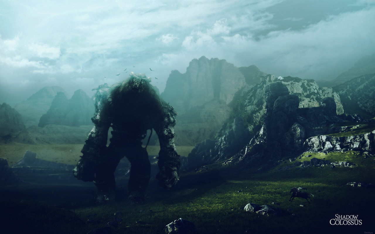 Free Download Shadow Of The Colossus Wallpaper By Seiikya