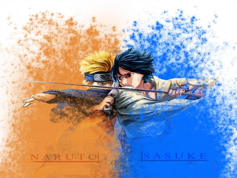 Sasuke VS Naruto wallpaper   Animebay Wallpapers 800x600