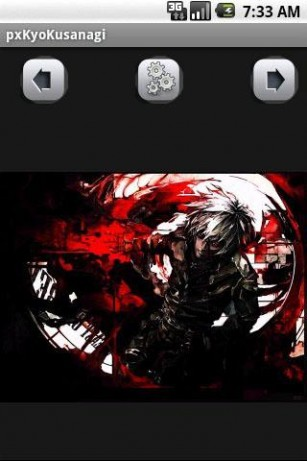 Download Kyo Kusanagi Wallpaper for Android by TIINY 307x461