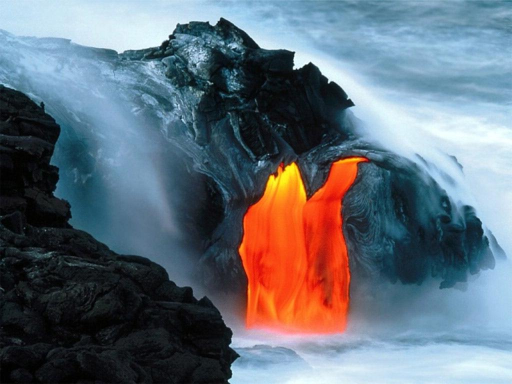 Volcano Wallpapers Hd: Hawaii Volcano Wallpaper
